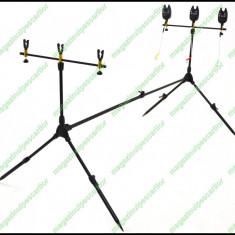 Rod pod Fishing Line - FL FL 3 Posturi 3 Swingere Si 3 Senzori / Avertizori Husa Transport Inclusa