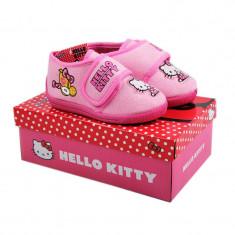 BOTOSEI DE CASA PINK HELLO KITTY - Sandale copii