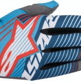 MXE Manusi motocross Alpinestars Radar Tracker culoare Alb/Albastru Cod Produs: 33304094PE