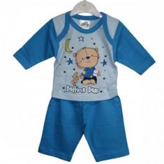 Pijamale Bedtime Bear bebelusi 0-3   3-6   6-9 luni / Pijamale subtiri 2 piese, Marime: Masura unica, Culoare: Din imagine, Baieti
