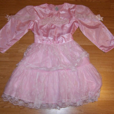 Costum de carnaval serbare printesa pentru copii 10-11 ani - Costum Halloween, Marime: Masura unica, Culoare: Din imagine
