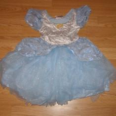 Costum carnaval serbare cenusareasa pentru copii de 2-3 ani marime XS - Costum Halloween, Marime: Masura unica, Culoare: Din imagine