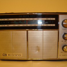 radio KOYO vintage made in Japan