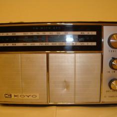 Radio KOYO vintage made in Japan - Aparat radio