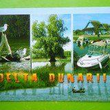 HOPCT 25283 DELTA DUNARII -JUD TULCEA-NECIRCULATA - Carte Postala Dobrogea dupa 1918, Printata
