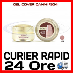 GEL UV COVER CANNI COVER PINK #304, 15 ML  - CONSTRUCTIE MANICHIURA, UNGHII UV
