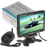 Monitor 7 TFT LCD Display,  2 Video Input + Kit Camera
