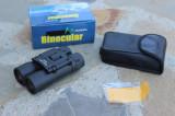 Mini Binoclu Profesional 12x30 Mic Compact  Cauciucat Calitate Voiaj Pescuit