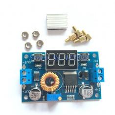 Modul 4.0-38V la 1.25V-36V DIY Adjustable Power Supply 5A 75W