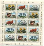 1983 Romania Flora si fauna din rezervatii naturale 2 blocuri numerotate  lp1084