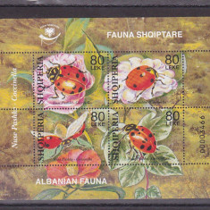 Fauna albaneza, Albania. - Timbre straine, Nestampilat
