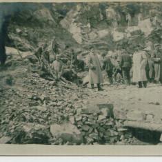 WW1 SOLDATI PRINZONIERI RUSI FRONTUL EST ROMANIA IN CARIERA DE PIATRA, Germania, Circulata, Printata