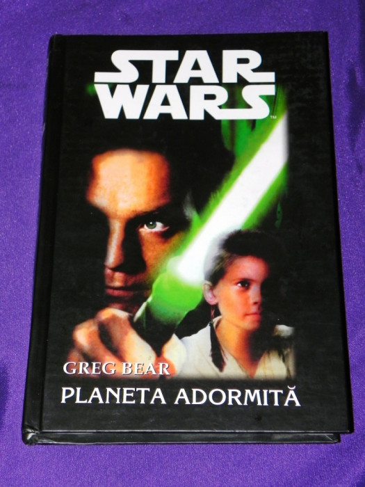 STAR WARS VOL 2 - Planeta adormita - GREG BEAR (5010 foto mare