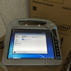 Tableta Panasonic Toughbook i5-2557/2gb/160gb/port serial, usb, w7p, 10.1 inch, 128GB, Wi-Fi, Windows 7