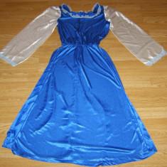 Costum de carnaval serbare rochie printesa pentru copii de 10-11-12 ani - Costum Halloween, Marime: Masura unica, Culoare: Din imagine