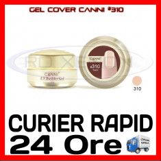GEL UV COVER CANNI PEACH #310, 15 ML  - CONSTRUCTIE MANICHIURA, UNGHII UV