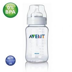 Biberon Philips Avent Airflex 330ml/11oz - biberoane - tetina 3 L + bebe, 0-6 luni, Fara BPA