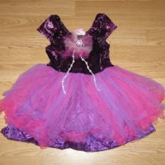 Costum carnaval serbare rochie dans printesa floare pentru copii de 3-4 ani - Costum Halloween, Marime: Masura unica, Culoare: Din imagine