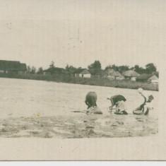 WW1 FRONTUL DE EST FEMEI DINTR-UN SAT ROMANESC LA SPALAT RUFE, Germania, Circulata, Printata