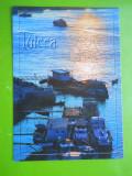 HOPCT 25284 TULCEA APUS DE SOARE PE DUNARE -JUD TULCEA-NECIRCULATA, Printata