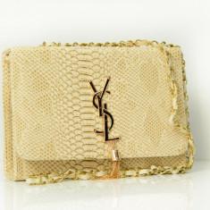 Geanta / Poseta tip plic de umar sau mana Yves Saint Lauren YSL + Cadou Surpriza - Geanta Dama Yves Saint Laurent, Culoare: Din imagine, Marime: One size, Geanta plic, Asemanator piele