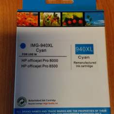 Cartus Compatibil Imprimanta HP Office Jet Pro 8000 Wireless cyan - Cartus imprimanta
