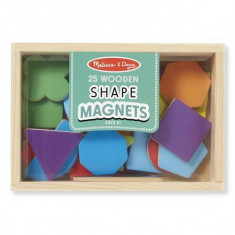 Forme Magnetice Din Lemn - Jocuri Forme si culori Melissa & Doug