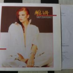 Milva Mut Zum Risiko album disc vinyl lp muzica pop vest germany 1985 mapa texte, VINIL