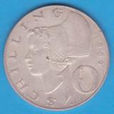 (1) MONEDA DIN ARGINT AUSTRIA - 10 SCHILLING 1969, 7, 5 GRAME, Europa