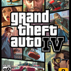 Grand Theft Auto IV GTA (COD ACTIVARE Steam) - Jocuri PC Rockstar Games, Role playing, 18+, Single player