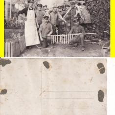 Ramnicu Sarat - tema militara, razboi, WK1, WWI-Bucatarie de campanie- rara