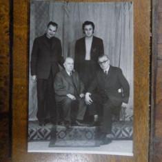 Fotografie grup Aurel Cosma 1971 - Harta Europei