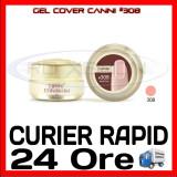 Cumpara ieftin GEL UV COVER CANNI HARD PINK #308, 15 ML  - CONSTRUCTIE MANICHIURA, UNGHII UV