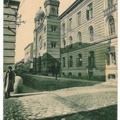 637 - TIMISOARA - S Y N A G O G U E - old postcard - used - 1919 - Carte Postala Banat 1904-1918, Circulata, Printata
