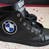 BMW GHETE Adidasi mas 40, 41, 42, 43 si 44 E30 E34 E36 E39 E21 E38 X1 X3 - Ghete barbati, Culoare: Negru, Piele sintetica
