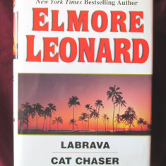 THREE COMPLETE NOVELS, Elmore Leonard, 1992. Carte in lb. engleza. Absolut noua - Carte in engleza