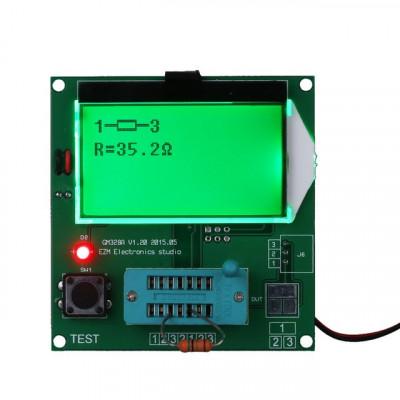 Tester componente ESR GM328 si generator de semnal cu ecran LCD foto