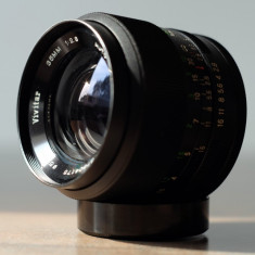 Obiectiv foto wide 35mm/2.8 Vivitar m42 Canon Nikon Sony NEX Fuji Olympus - Obiectiv DSLR Vivitar, Wide (grandangular), Manual focus