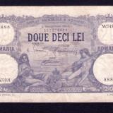 ROMANIA - 20 lei - Octombrie 1924. Frumoasa ! - Bancnota romaneasca