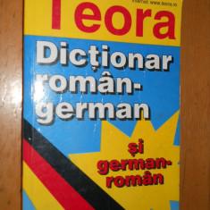 DICTIONAR ROMAN GERMAN SI GERMAN -ROMAN - 15000 CUVINTE - I.SIRETEANU - Curs Limba Germana teora