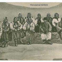 2230 - Maramures, BORSA, ETHNICS - old postcard - unused - Carte Postala Maramures 1904-1918, Necirculata, Printata