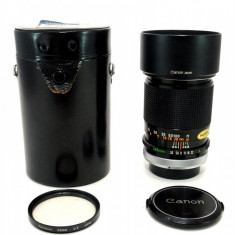 Vand obiectiv CANON FD 135mm 3.5 S.C., Manual focus, Canon - EF/EF-S