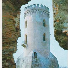 Bnk cp Targoviste - Turnul Chindia - circulata - Carte Postala Muntenia dupa 1918, Printata