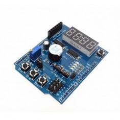 Modul 4 digiti senzor temperatura Ds18b20 LM35 butoane interfata bluetooth buzer