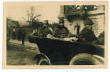1280 - Maramures, SIGHET WW I, Officers on the front line - old PC unused - 1917