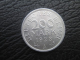 Germania . 200 marci(mark) . 1923 . UNC