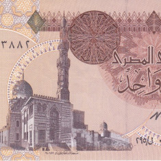 Bancnota Egipt 1 Pound 1996 - P50e UNC - bancnota africa