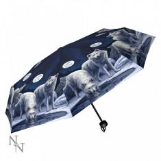 Umbrelă cu lupi Războinicii iernii - Umbrela Copii