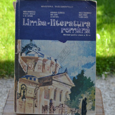 Carte - Limba si literatura romana manual pentru clasa a XI-a ( anul 1997) #247, Didactica si Pedagogica