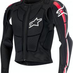 MXE Geaca Protectie corp Alpinestars Bionic Plus culoare Negru/Rosu/Alb Cod Produs: 27020185PE - Protectii moto